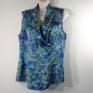 Coldwater Creek sleeveless new blouse